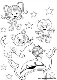Small Picture Umizoomi coloring picture Coloring and Activities Pinterest