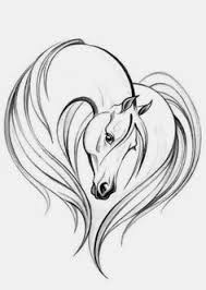 horse head drawing. Beautiful Head Easyhorsedrawings  Simple Horse Head Drawing Elegant Horse Head On The Inside C