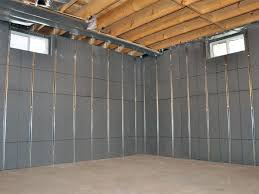basement to beautiful panels installed on a basement wall that s ready to be finished