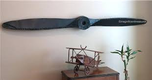 metal airplane wall decor industrial rustic metal airplane aircraft propeller plane aviation wall decor vintage metal metal airplane wall decor