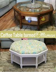 pretty sure my pas have this coffee table turning a thrifted coffee table into a tufted ottoman a detailed tutorial