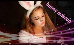 bunny costume makeup