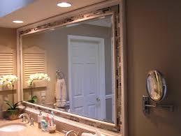 bathroom mirror frame tile. Wonderful Tile Bathroom Mirror Frames Ideas Full Size  And Frame Tile