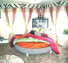 Boho Chic Curtains Bed Canopy Curtains Gypsy Bedroom Lovable Bed ...