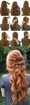 25 Easy Half Up Half Down Hairstyle Tutorials For Prom Page 2 Of 5