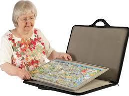 puzzle board storage jigsaw holder light removable diy