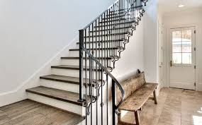 Wrought Iron Stair Railing Modern