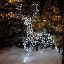 noma 24 outdoor battery operated led christmas lights. noma outdoor stag light figure - 1.45m. loading zoom 24 battery operated led christmas lights