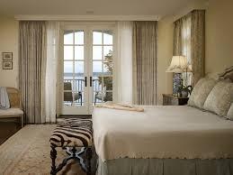bedroom double rod curtain ideas