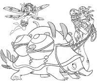 Coloring Pages Mia And Me Morning Kids