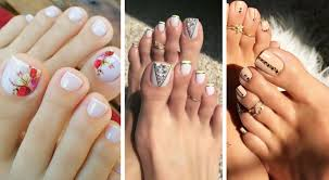 Pedicure Designs Glitter 60 Stylish Toe Nail Designs For All Seasons In 2020 Yve