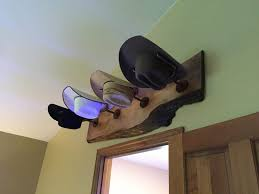 diy hat rack wall mount how to make a