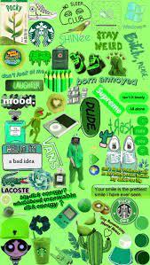 Aesthetic Billie Eilish Collage Wallpaper