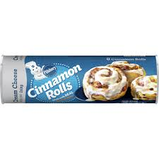 These sweet, lemony rolls are a fresh alternative to classic cinnamon rolls a little cardamom in the for the icing. Pillsbury Cinnamon Rolls With Cream Cheese Icing Pillsbury Com
