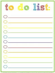 to do lists templates free printable to do lists 20 free printable checklist templates