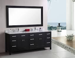 element contemporary bathroom vanity set: design element london double  inch espresso modern bathroom vanity set