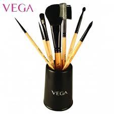 set of 7 make up brushes evs 07