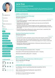 Resume Templaye Free Resume Templates For 2019 Download Now
