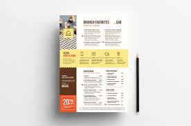 044 Free Templates For Flyers Online Catering Menu Design