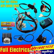 full electrics wiring harness cdi coil 110cc 125cc atv quad bike full electrics wiring harness cdi coil 110cc 125cc atv quad bike buggy gokart