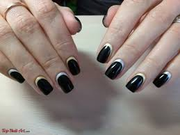 Difficult Nail Art Designs Not Difficult Black Nail Design