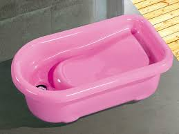 japanese soak tub acrylic pink kids spa s infant baby bath tub stand