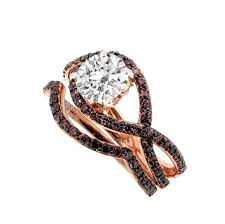 Chocolate Diamond Bridal Ring Sets Chocolate Diamond Rings For Daily And Special Moments Weddingring M Com