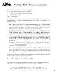 Prosthetic Technician Cover Letter Destination Representative