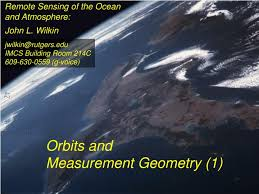 Ppt Remote Sensing Of The Ocean And Atmosphere Powerpoint