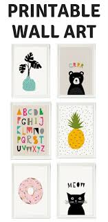 Printable Room Decor Best 25 Playroom Printables Ideas On Pinterest Kid Friendly