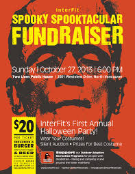 Fundraiser Poster Ideas Halloween Fundraising Event Poster For Interfit Fundraising