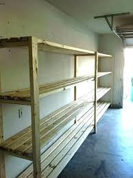 garage shelving plans storage ideas garage shelving overhead