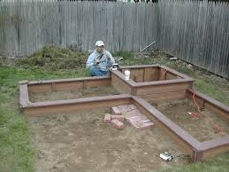 Small Picture Square Foot Garden Ideas Deck Raised Bed Designs Square