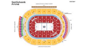 3d Seating Maps Scotiabank Arena