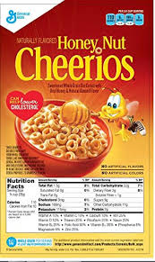 honey nut cheerios cereal 9 75 pounds bulk pack 4 count