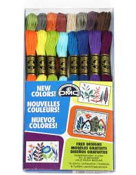 Dmc 16 New Embroidery Floss Colors