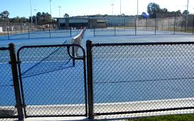 chain link fence post sizes. CHAINWIRE FENCING FOR SPORTS ENCLOSURE Chain Link Fence Post Sizes .
