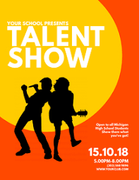 Talent Show Flyer Design School Talent Show Flyers Magdalene Project Org