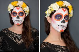 makeup how to sugar skull