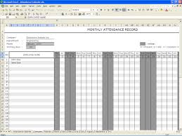 Office Attendance Sheet Excel Free Download excel attendance template Cityesporaco 1