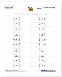 fractions for preschoolers worksheets