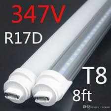 canada 347v industrial 2400mm fa8 r17d t8 led replace fluorescent lamps led light epistar smd2835 45w factory direct big off led chandelier