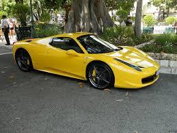 Yellow ferrari 458 italia spider. 458 Spyder Ferrari 458 Ferrari Mondial Ferrari