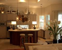 Above Kitchen Cabinets Ideas Simple Decorating