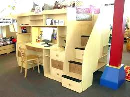 bed with desk and storage full size loft bed with desk and storage loft bed with bed with desk