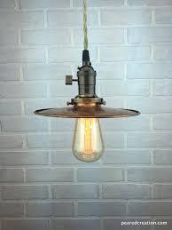 pendant lighting edison. Barn Lighting - Industrial Pendant Lights Copper Shade Ceiling Light Edison D