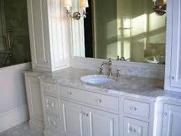 white bathroom cabinets with granite. Beautiful Bathroom Granite Countertops Best Color For And White Cabinets With Regard To Vanity . R