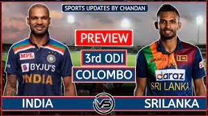 Sri Lanka vs India 3rd ODI Toss & Pre ...