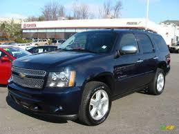 2008 Dark Blue Metallic Chevrolet Tahoe LTZ 4x4 #22555795 ...