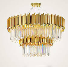 modern upscale living room k9 clear crystal chandelier ceiling bedroom lighting